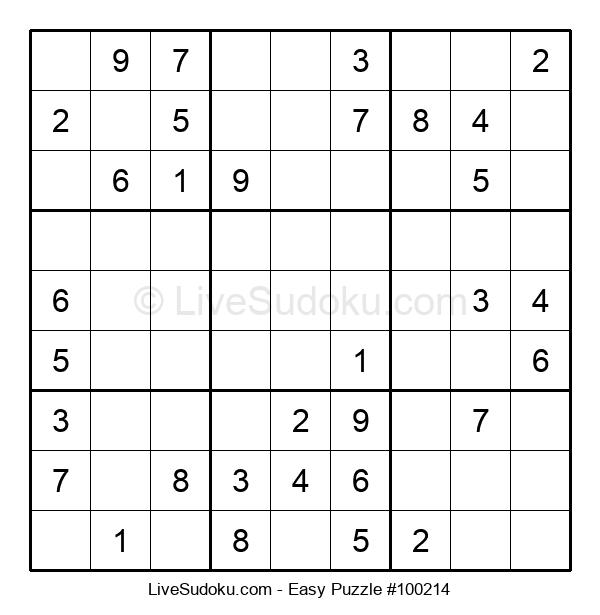 Beginners Puzzle #100214