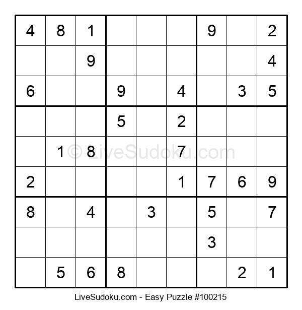Beginners Puzzle #100215
