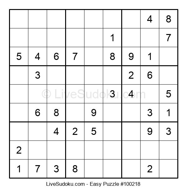 Beginners Puzzle #100218