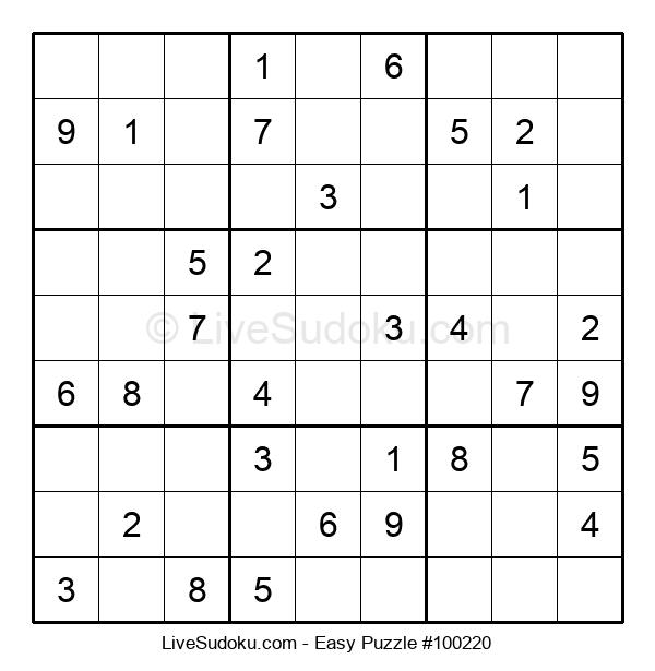 Beginners Puzzle #100220