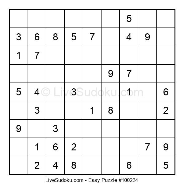 Beginners Puzzle #100224