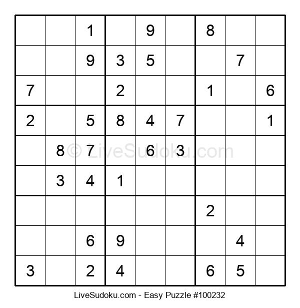 Beginners Puzzle #100232