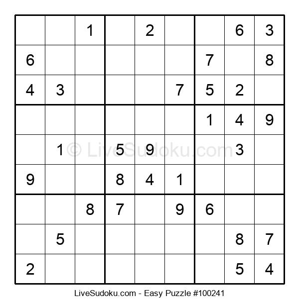 Beginners Puzzle #100241