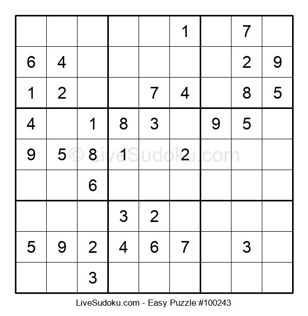 Beginners Puzzle #100243