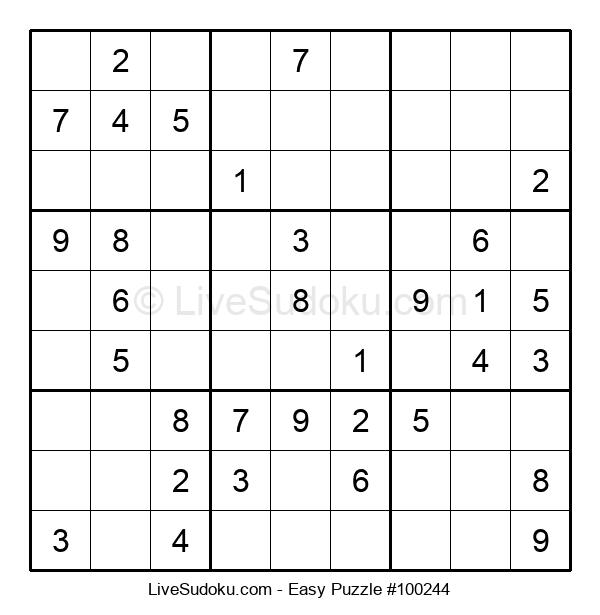 Beginners Puzzle #100244