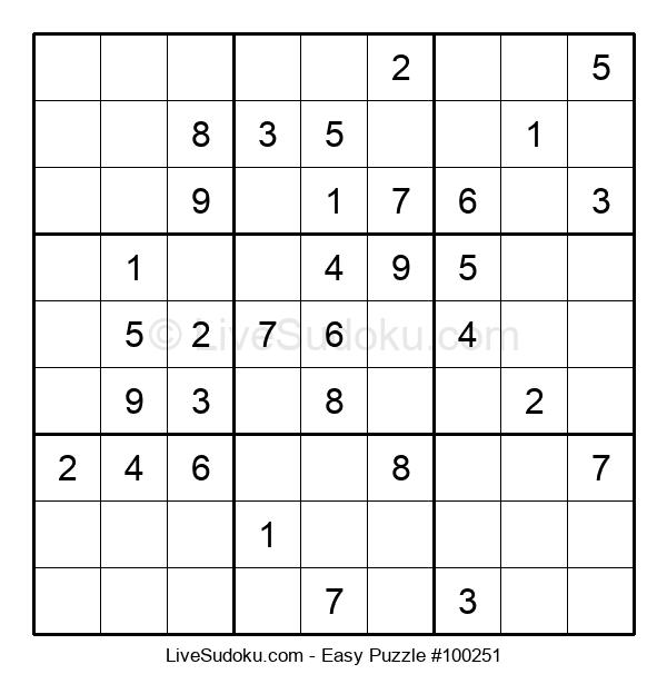 Beginners Puzzle #100251