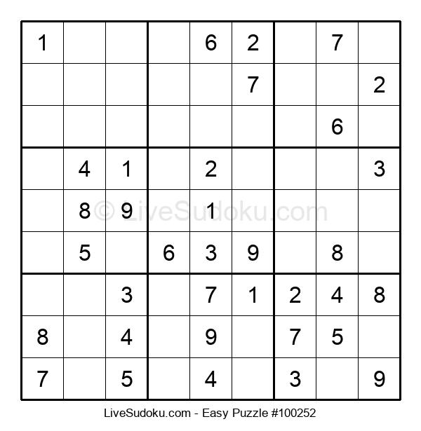 Beginners Puzzle #100252