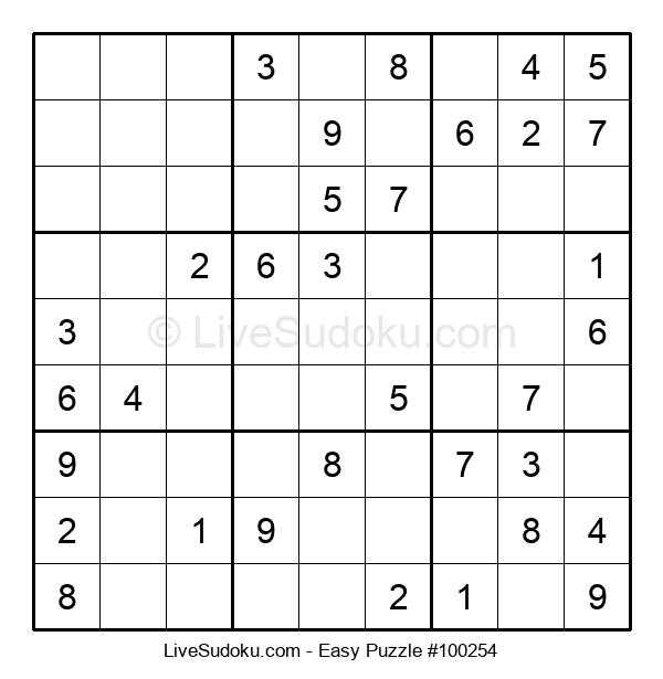Beginners Puzzle #100254