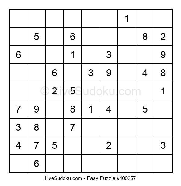 Beginners Puzzle #100257