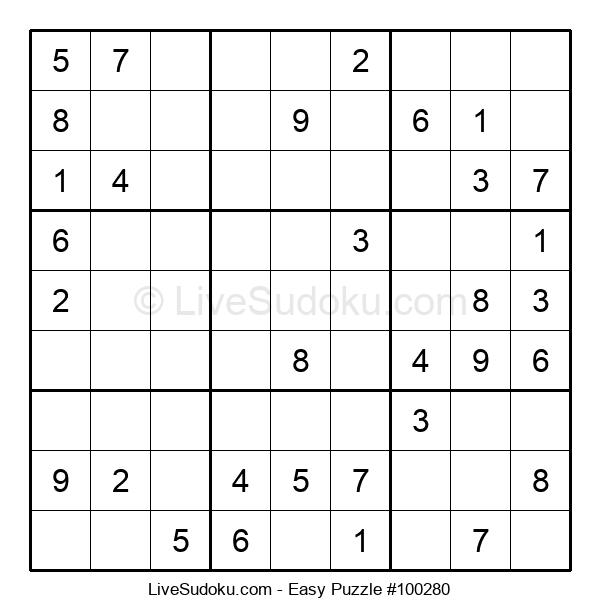 Beginners Puzzle #100280