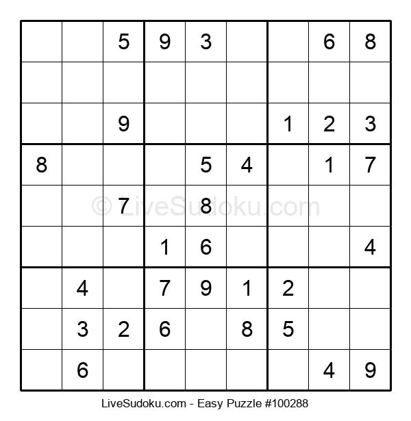 Beginners Puzzle #100288