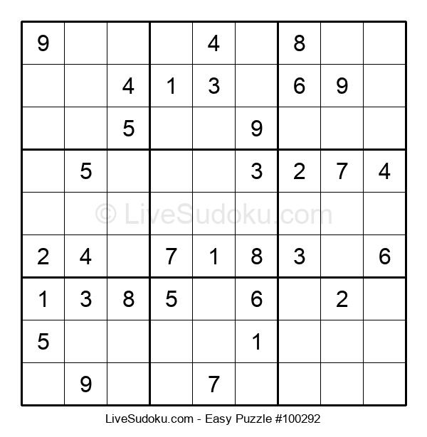 Beginners Puzzle #100292