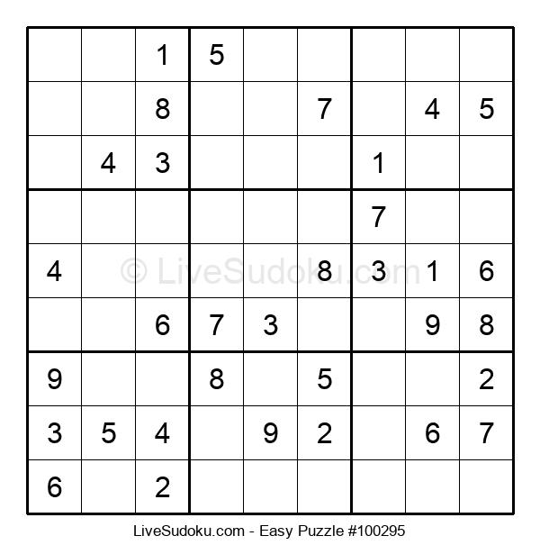 Beginners Puzzle #100295