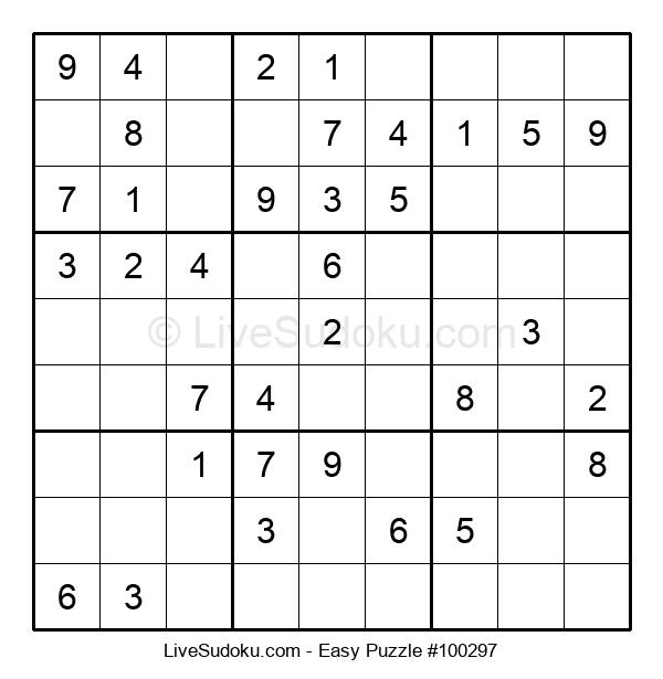 Beginners Puzzle #100297