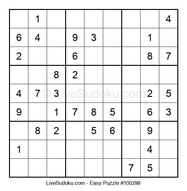 Beginners Puzzle #100298