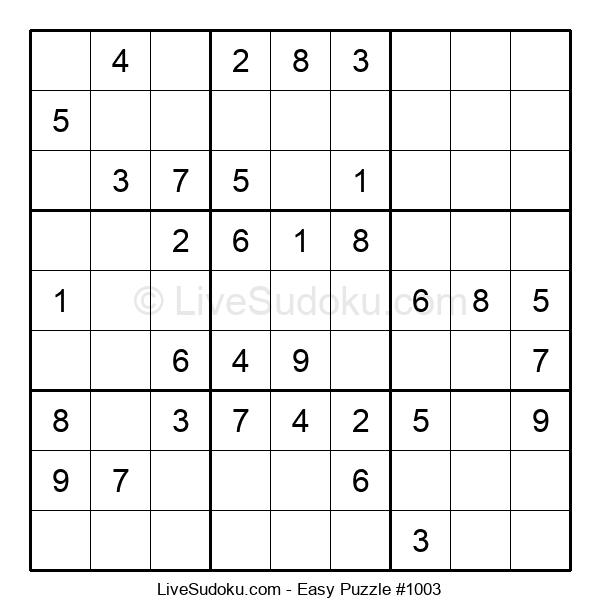 Beginners Puzzle #1003