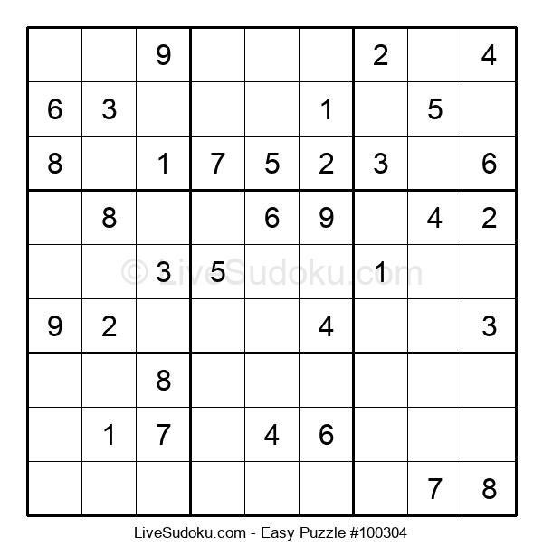 Beginners Puzzle #100304