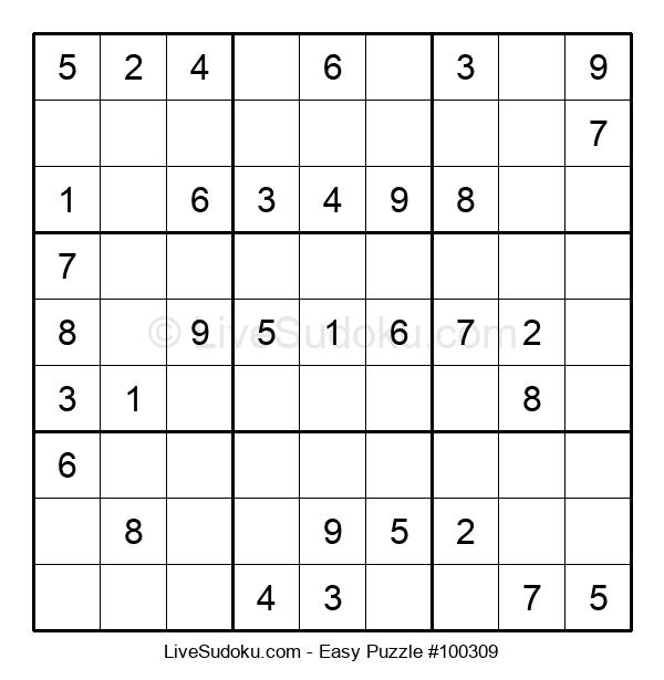 Beginners Puzzle #100309