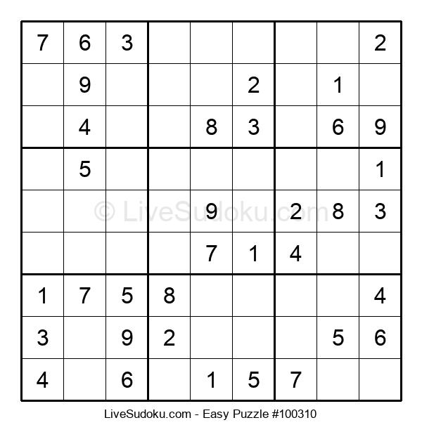 Beginners Puzzle #100310