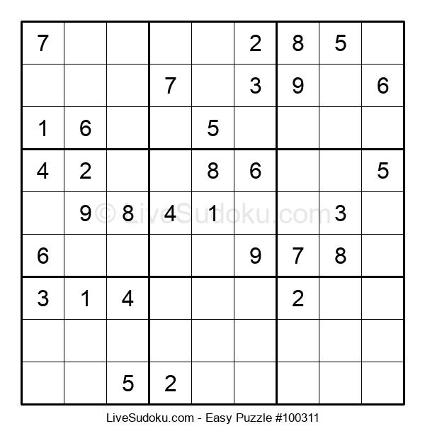 Beginners Puzzle #100311