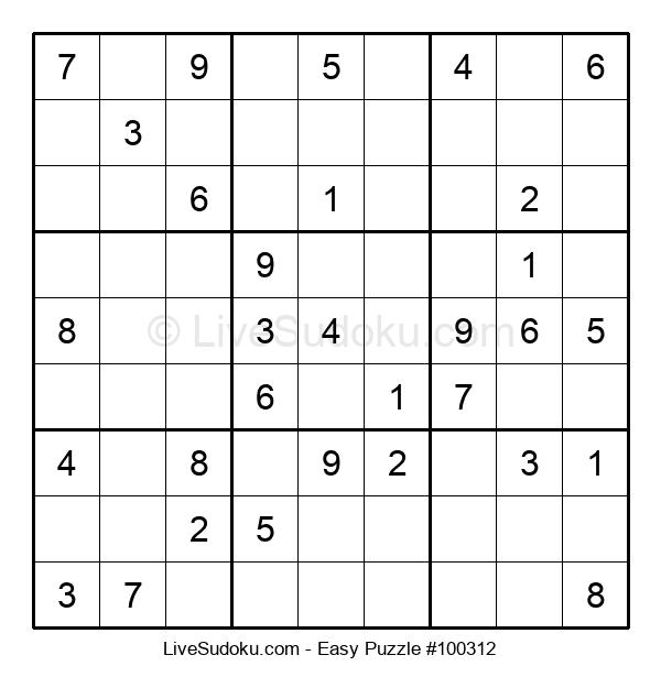 Beginners Puzzle #100312