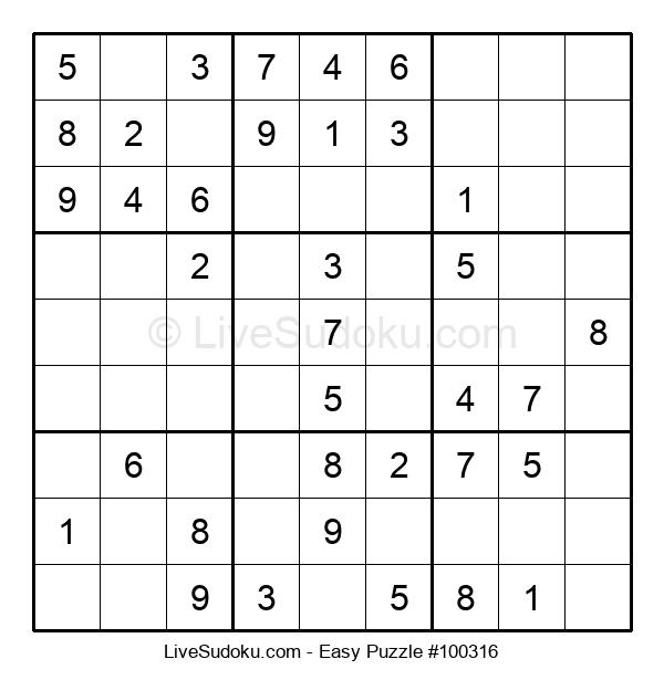 Beginners Puzzle #100316