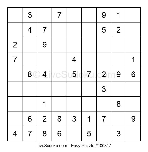 Beginners Puzzle #100317