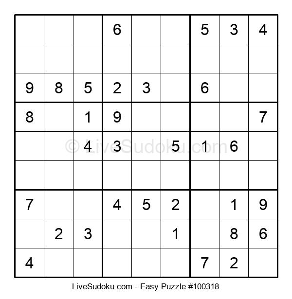 Beginners Puzzle #100318