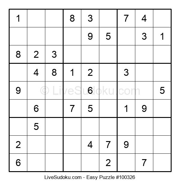 Beginners Puzzle #100326