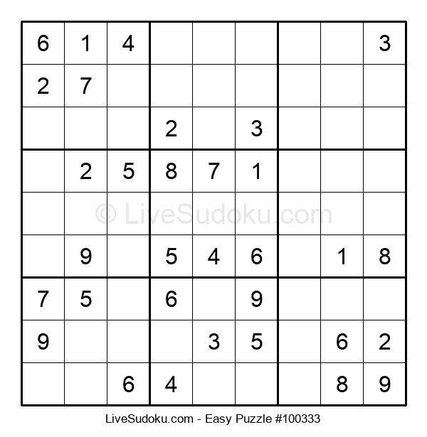 Beginners Puzzle #100333