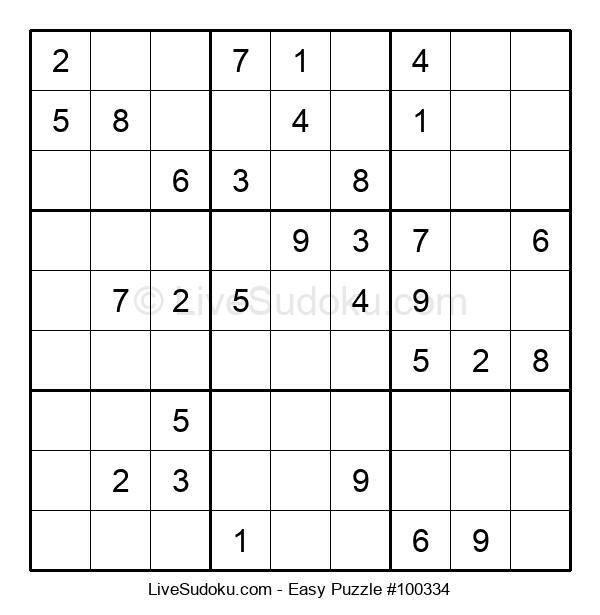Beginners Puzzle #100334