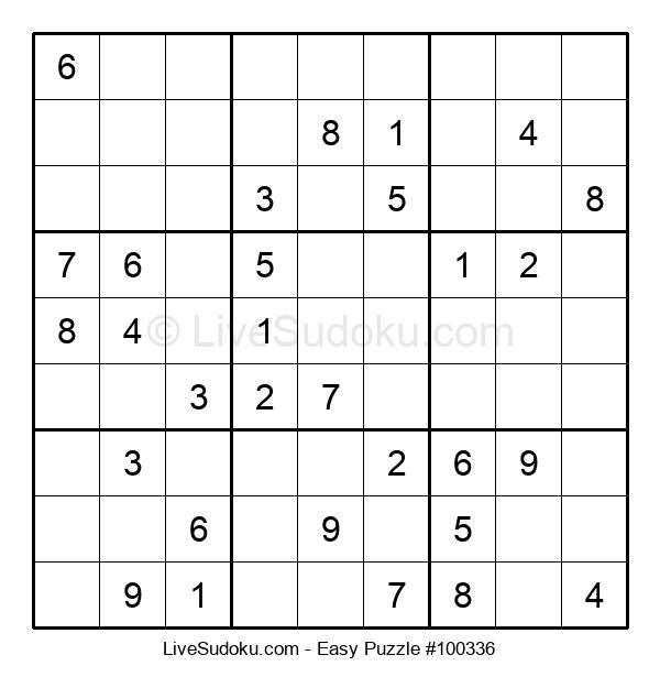 Beginners Puzzle #100336