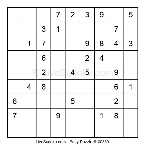 Beginners Puzzle #100339