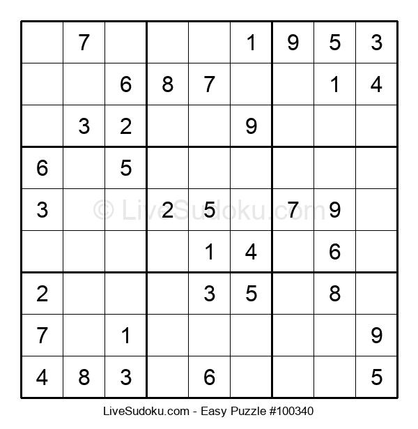 Beginners Puzzle #100340