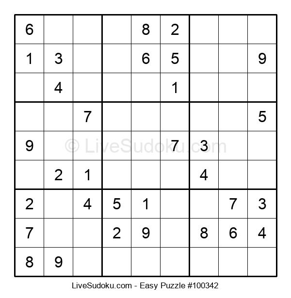 Beginners Puzzle #100342