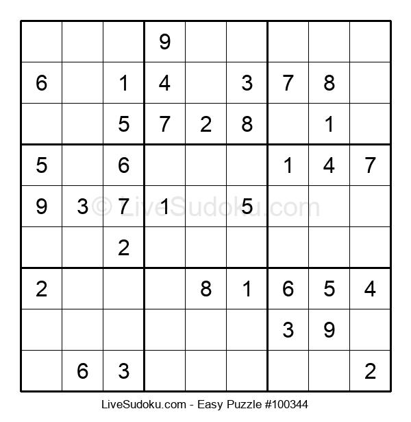 Beginners Puzzle #100344