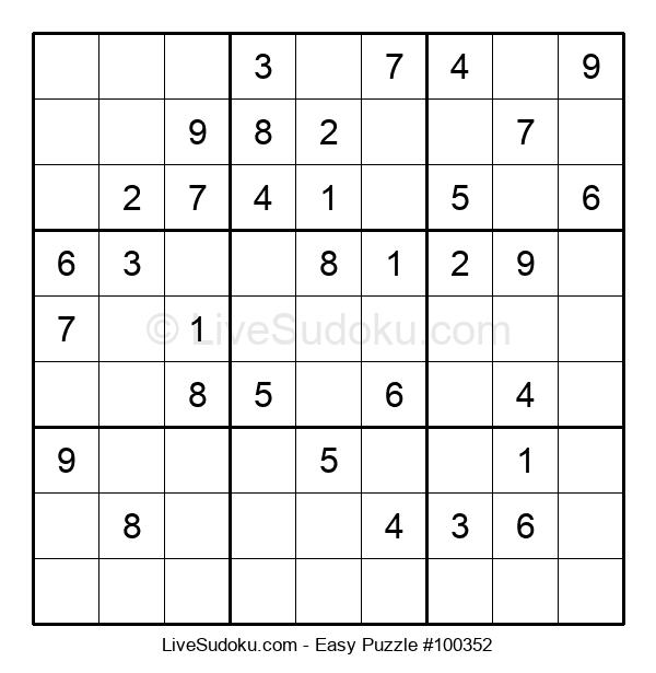 Beginners Puzzle #100352