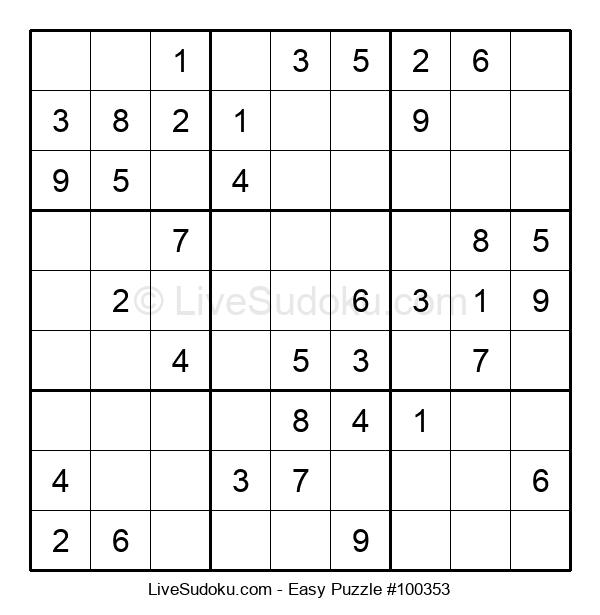 Beginners Puzzle #100353
