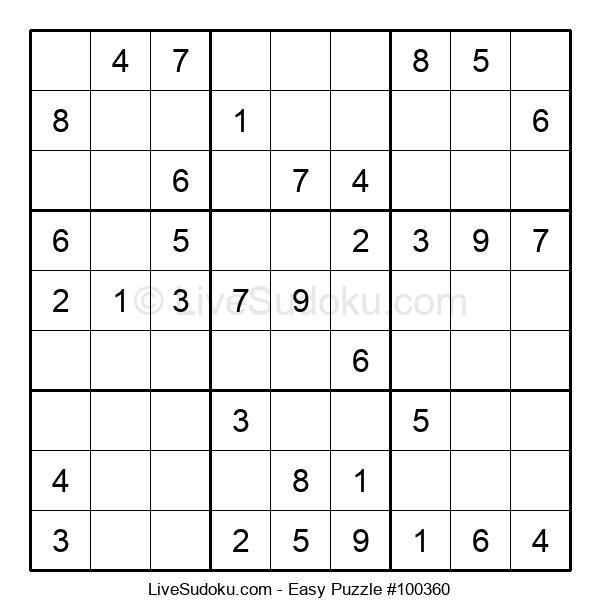 Beginners Puzzle #100360