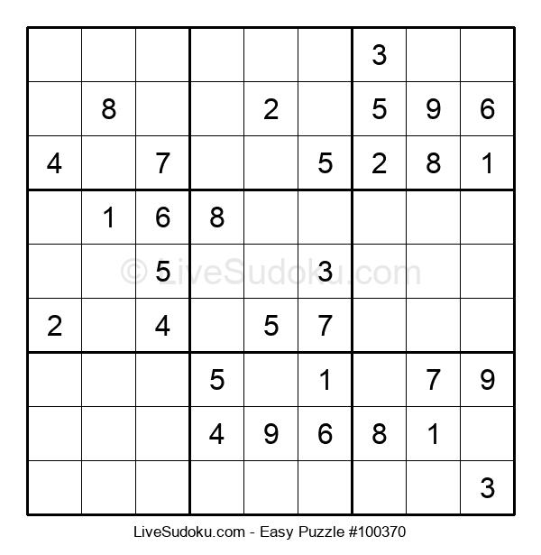 Beginners Puzzle #100370