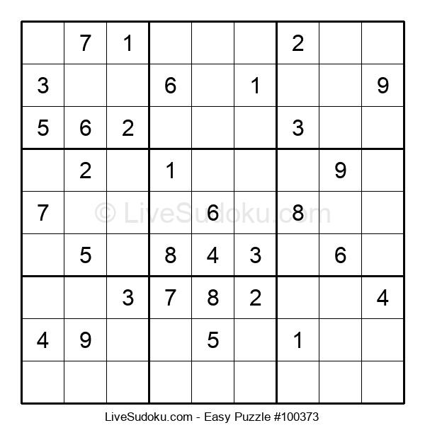 Beginners Puzzle #100373