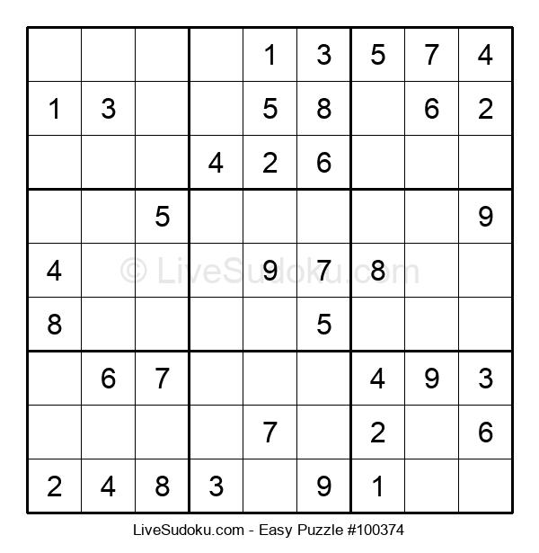 Beginners Puzzle #100374