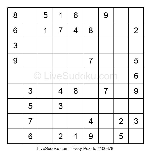 Beginners Puzzle #100378