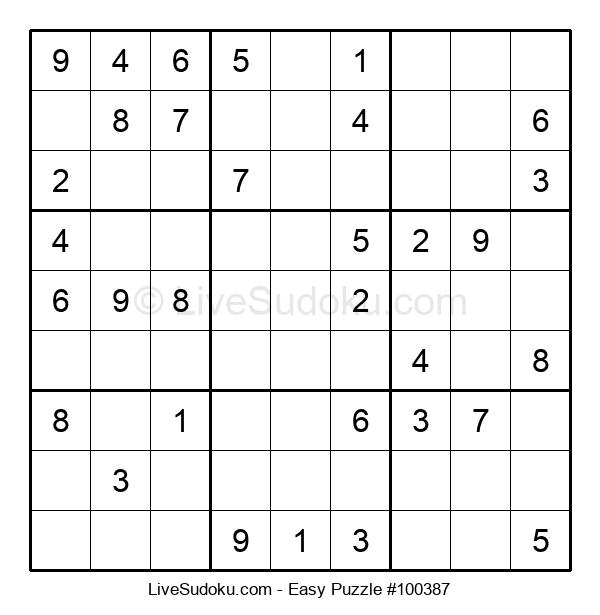 Beginners Puzzle #100387