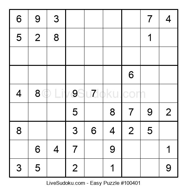 Beginners Puzzle #100401