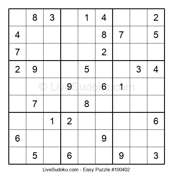 Beginners Puzzle #100402