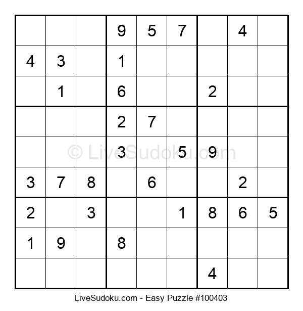 Beginners Puzzle #100403