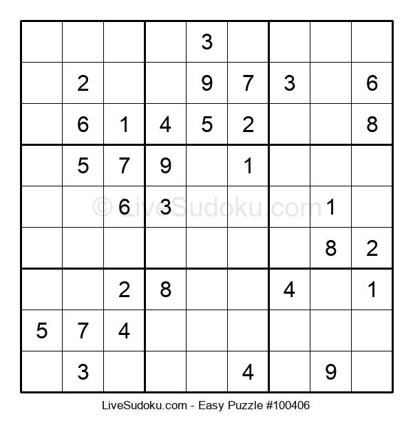 Beginners Puzzle #100406