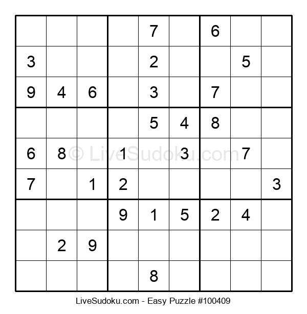 Beginners Puzzle #100409