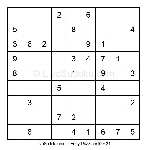Beginners Puzzle #100424